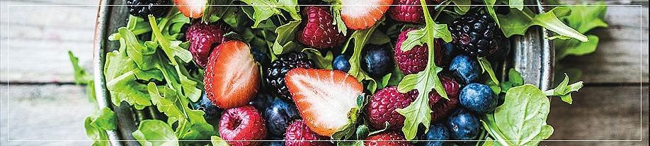 Balsamessig mit Frucht
