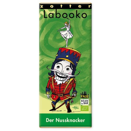 Labooko Schokolade - Der Nussknacker, BIO, Zotter