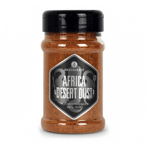 Ankerkraut - African Desert Dust, BBQ Rub, Streuer, 200g