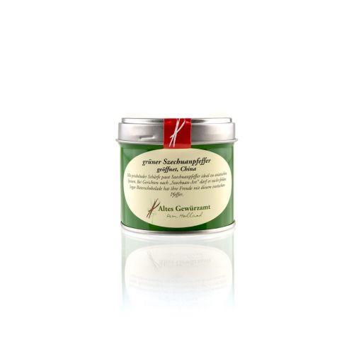 Grüner Szechuanpfeffer, Altes Gewürzamt, grüne Dose