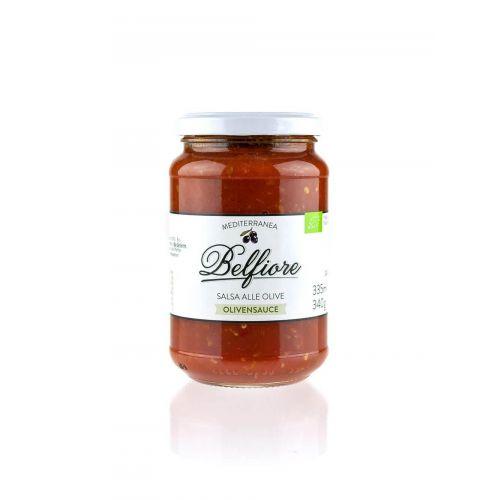 Tomatensauce mit Oliven BIO von Belfiore