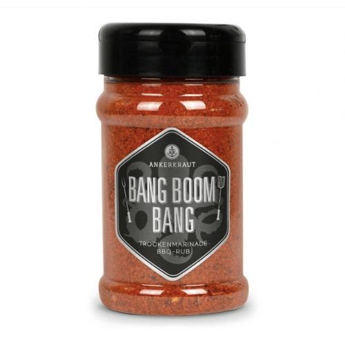 Ankerkraut - Bang Boom Bang, BBQ Rub, Streuer, 210g