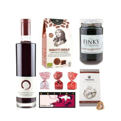 Geschenkset: Bordeauxrot