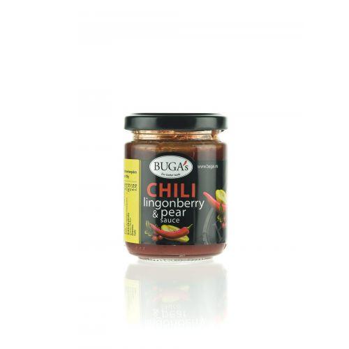 Buga´s Chili Preiselbeere & Birnensauce