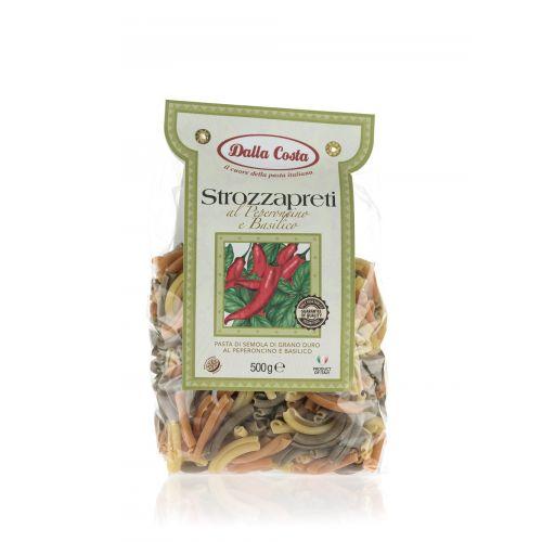 Dalla Costa Strozzapreti mit Peperoncino und Basilikum