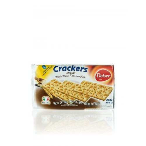 Delser Cracker aus Vollkorn