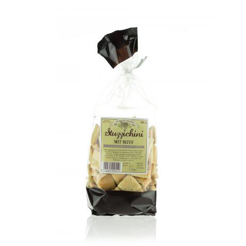 Brotcracker mit Olive