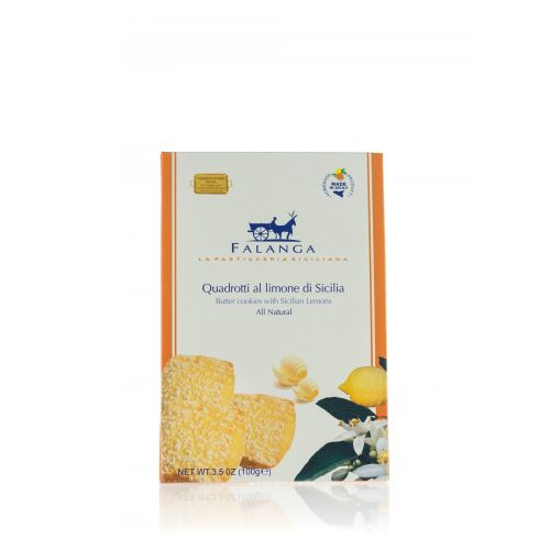 Sizilianisches Gebäck mit kandierten Zitronen von Falanga