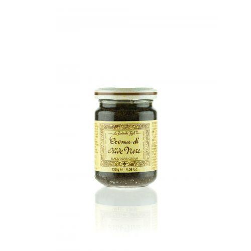 Schwarze Olivencreme von Favorita 130g