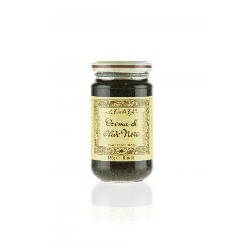 Schwarze Olivencreme von Favorita