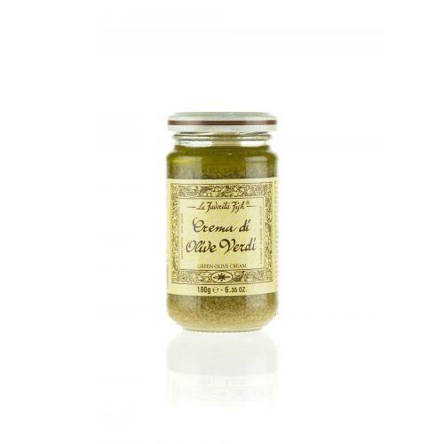 Grüne Olivencreme von Favorita