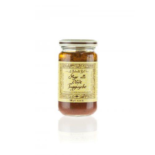 Tomatensauce mit Taggiasca Oliven von Favorita