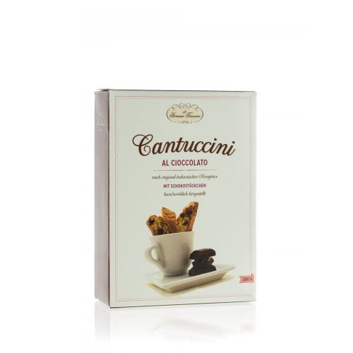 Cantuccini mit Schokolade