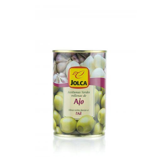 Grüne Oliven mit Knoblauch gefüllt von Jolca