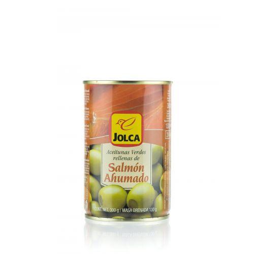 Grüne Oliven mit Lachs gefüllt von Jolca