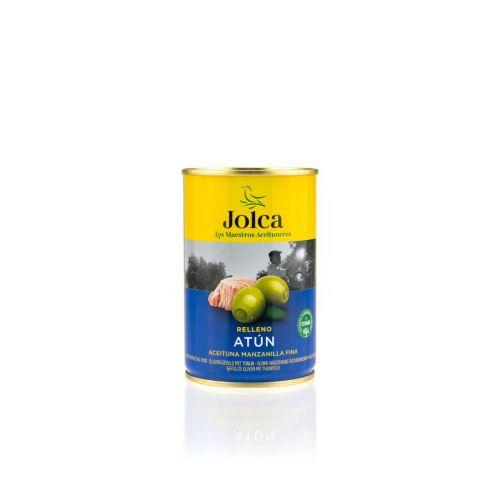 Grüne Oliven mit Thunfisch gefüllt von Jolca