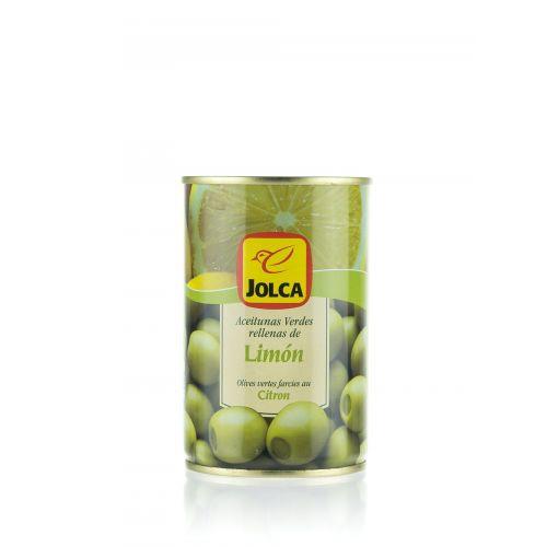 Grüne Oliven mit Zitronen gefüllt von Jolca