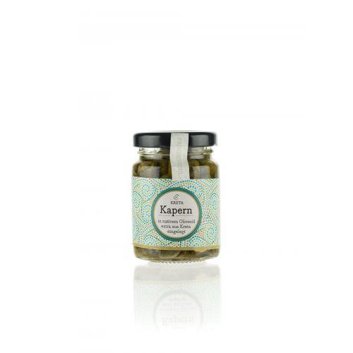 Kapern in Olivenöl von Kreta