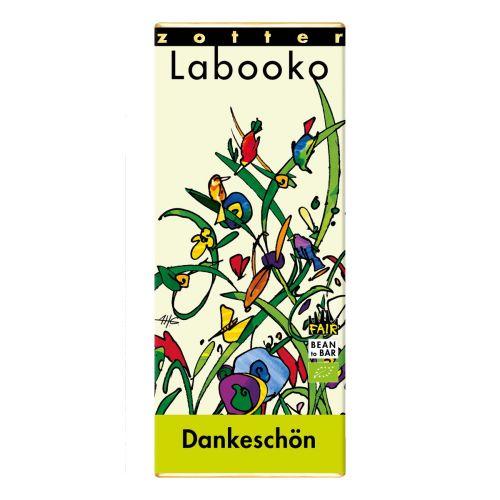 """Labooko Schokolade Zotter """" Dankeschön"""""""