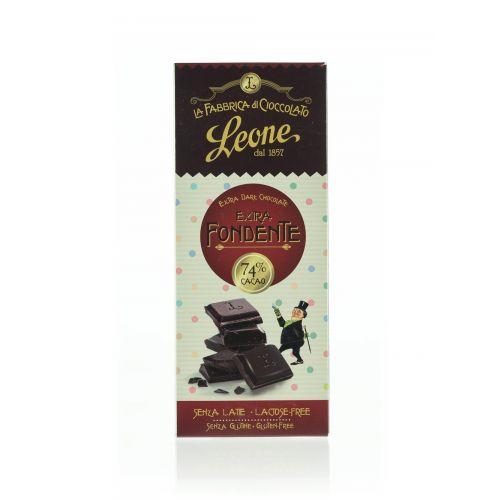 Schokolade mit 74% Kakao von Leone