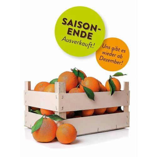 10 kg Washington Navel Orangen direkt aus Sizilien, erntefrisch und aromatisch