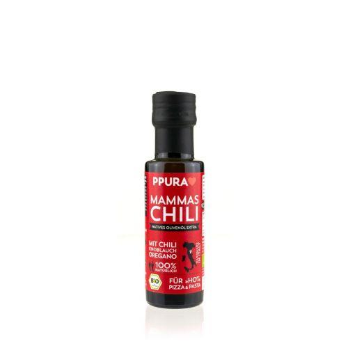 Olivenöl mit Chili von PPURA, 100ml