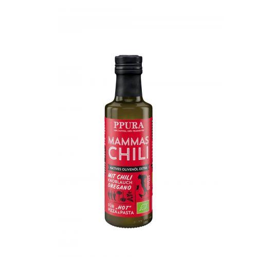 Olivenöl - Mammas Chili BIO von PPURA, 100ml