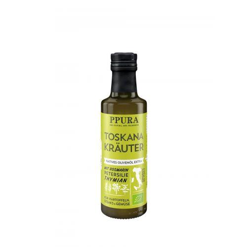 Olivenöl mit Toskana Kräutern von PPURA, 100ml