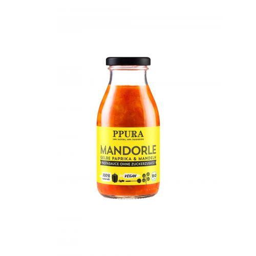 Bio Sugo mit Mandel & gelber Paprika von PPURA, 250ml