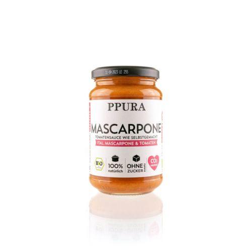 Bio Tomatensauce mit Mascarpone von PPura