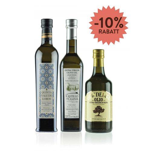 Selektion Olivenöl: Olivenöl aus drei Ländern