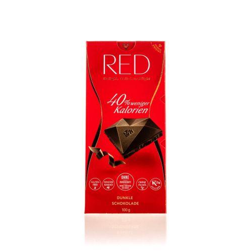 Red dunkle Schokolade 100g