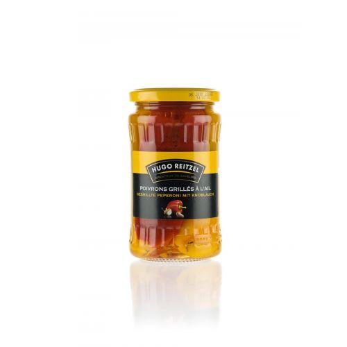 Gegrillte Paprika mit Knoblauch von Reitzel