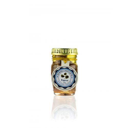 Sardellenfilets mit Kapern und Olivenöl von Savini