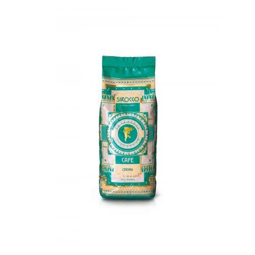 Crema Tradizionale von Sirocco, 100% Arabica, Bohnen, 500g