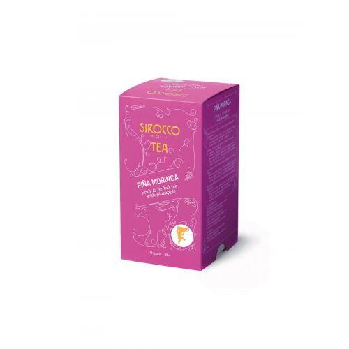Sirocco Pina Moringa - BIO Früchte- & Kräutertee - 20 Beutel
