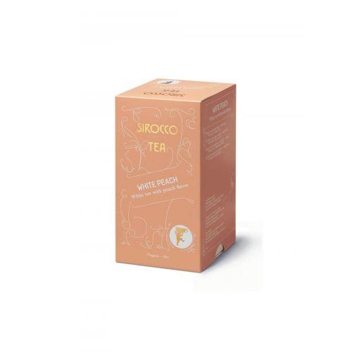 Sirocco, White-Peach, Weißer Tee mit Früchten