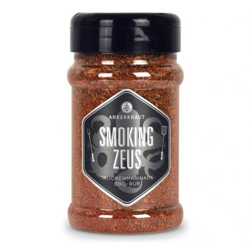 Ankerkraut - Smoking Zeus, BBQ Rub, Streuer, 200g