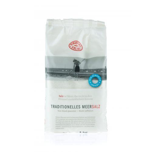 Traditionelles Meersalz fein/ jodiert von Piranske Soline 1kg