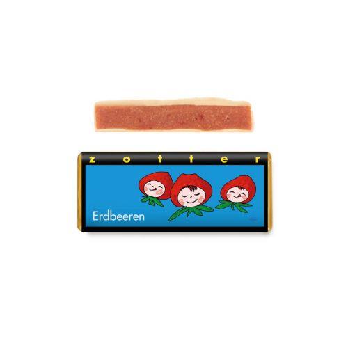 Erdbeere - Zotter Schokolade