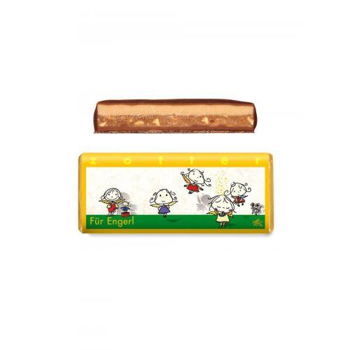 Für Engerl von Zotter - Handgeschöpfte Schokolade, BIO