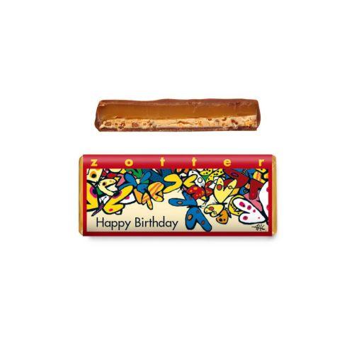 Happy Birthday - Zotter Schokolade 70g