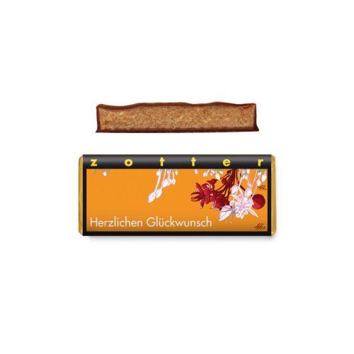 Herzlichen Glückwunsch - Zotter Schokolade 70 g