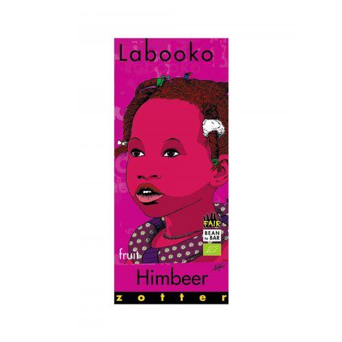 Labooko Himbeer von Zotter - Handgeschöpfte Schokolade, BIO, 70 g Tafel