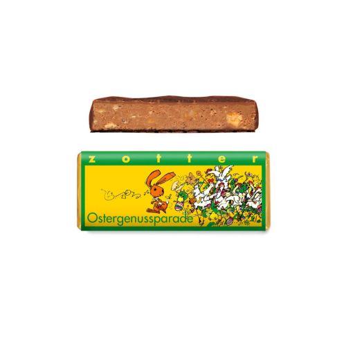 Ostergenussparade - Zotter - Handgeschöpfte Schokolade, BIO