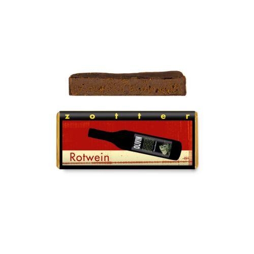 Rotwein - Zotter Schokolade 70 g