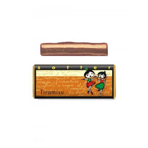 Tiramisu Schokolade von Zotter - Hangeschöpft, Bio