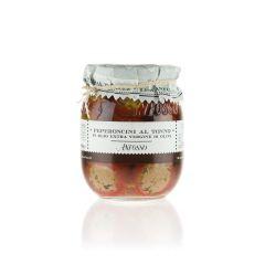 Anfosso Peperoncini gefüllt mit Thunfisch in Olivenöl
