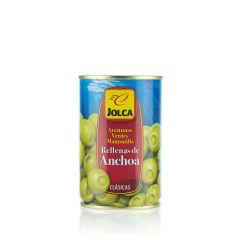 Grüne Oliven mit Sardellen gefüllt von Jolca