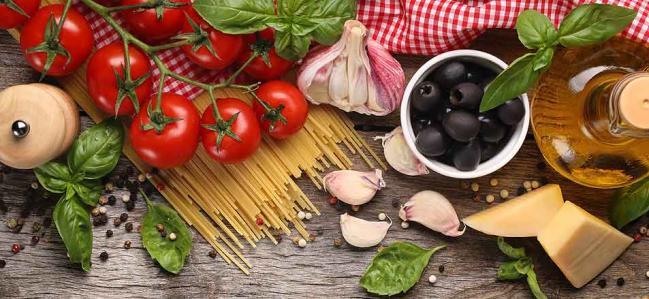 Italienisches Essen und das passende Olivenöl